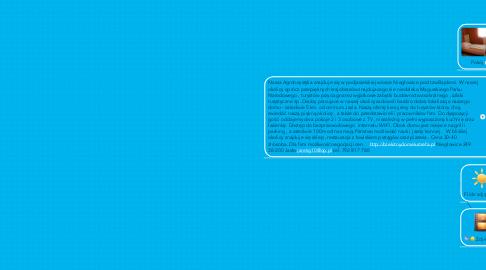 Mind Map: AGROTURYSTYKA BLEKITNY DOMEK