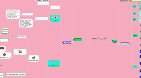 Mind Map: ESTRATEGIA Y GESTIÓN ESTRATÉGICA