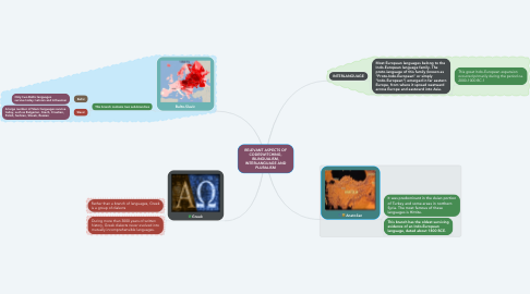 Mind Map: RELEVANT ASPECTS OF CODESWITCHING, BILINGUALISM, INTERLANGUAGE AND PLURALISM