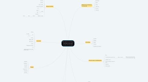Mind Map: Entreprise numérique innovante donnant accès à la musique