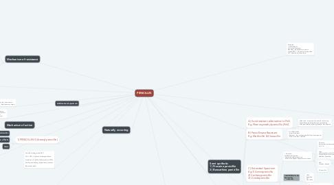 Mind Map: PENICILLIN