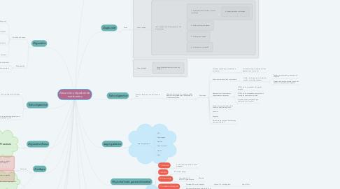 Mind Map: Absorción y digestión de nutrimentos