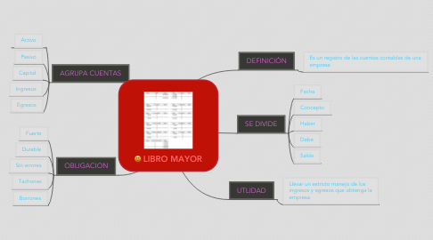 Mind Map: LIBRO MAYOR