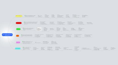 Mind Map: Tipos, escalas o columnas de interpretación.