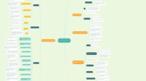 Mind Map: Gestión ambiental y desarrollo sostenible