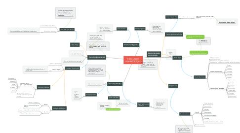 Mind Map: ESCOLAS DE ADMINISTRAÇÃO