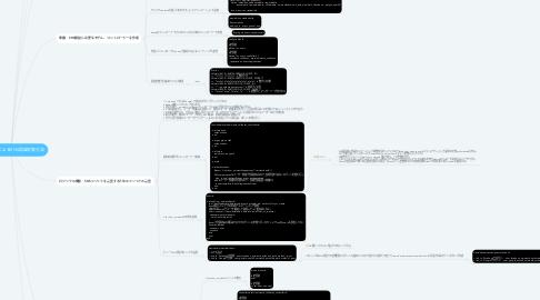 Mind Map: OmniAuthによるSNS認証実装方法