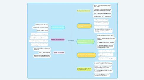 Mind Map: Categorización