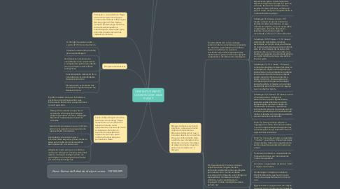 Mind Map: DESENVOLVIMENTO COGNITIVO EM JEAN PIAGET