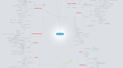 Mind Map: Englisch 12/13 Abi