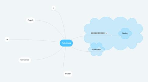 Mind Map: Aduanas