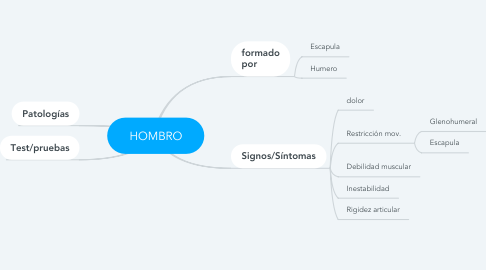 Mind Map: HOMBRO