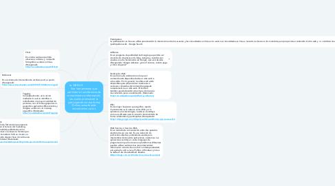 Mind Map: La WEB 2.0                       Son herramientas que permiten la transferencia de conocimiento e información, las cuales promueven la participación de una forma Online, actualmente encontramos varias.
