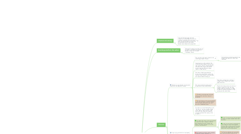 Mind Map: Crossing The Chasm Summary