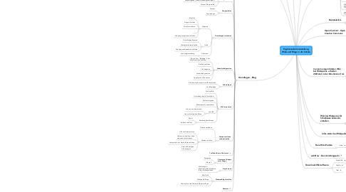 Mind Map: Ergänzende Veranstaltung Wikis und Blogs in der Schule