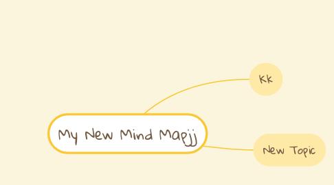 Mind Map: My New Mind Mapjj