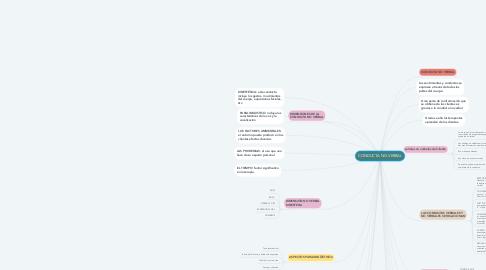 Mind Map: CONDUCTA NO VERBAL