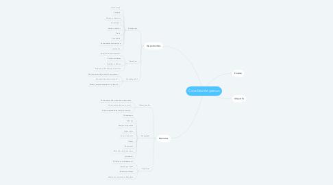 Mind Map: Contrôleur de gestion