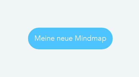 Mind Map: Meine neue Mindmap