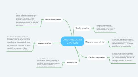 Mind Map: ORGANIZADORES GRAFICOS