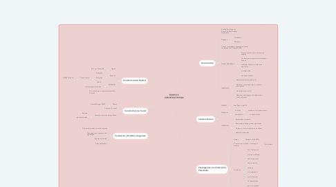 Mind Map: MARCOS CONSTRUCTIVISTAS