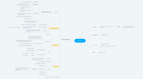Mind Map: Totipotency