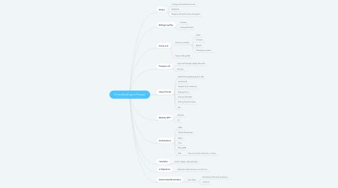Mind Map: Prima Roadmap In Process