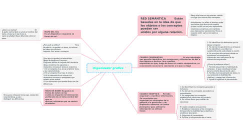 Mind Map: Organizador gràfico