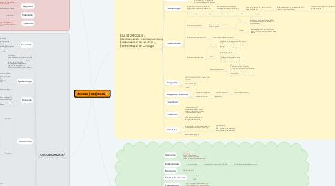 Mind Map: MICOSIS ENDÉMICAS