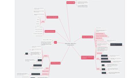 Mind Map: Subsistema selección e incorporación