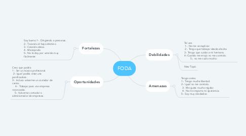 Mind Map: Mis Vacaciones