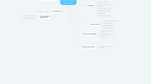 Mind Map: Бровист Екатерина Вороненкова