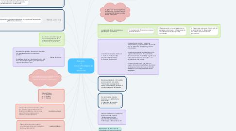 Mind Map: Anatomía   y           Circuito Fisiológico de las   Emociones