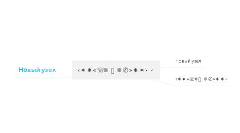 Mind Map: ‹✶✷«☏✵⚿✵✆»✷✶›
