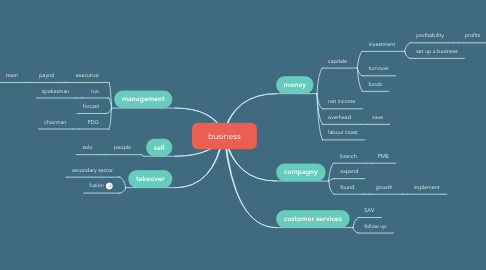 Mind Map: business