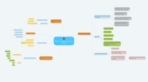 Mind Map: Mini Lançamento Produto Fisico