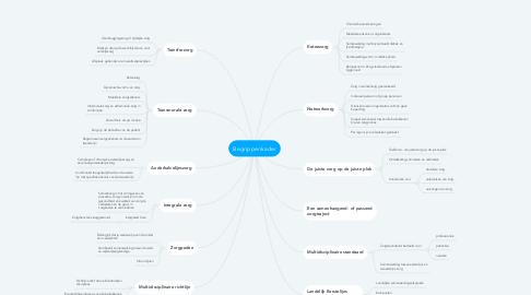 Mind Map: Begrippenkader