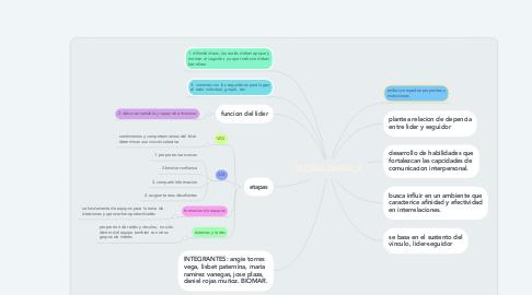 Mind Map: TEORIA DIADICA