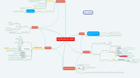 Mind Map: METABOLISMO DEL HIERRO