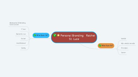 Mind Map: Personal Branding   Raichel St. Luce