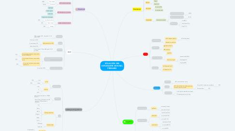 Mind Map: SITUACIÓN DEL ESTUDIANTE DE NIVEL PRIMARIO