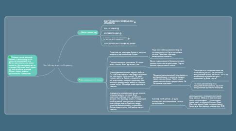 Mind Map: Топ Менеджер по Сервису