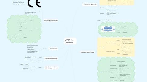 Mind Map: Kapitel 1 - Branchen und Unternehmen