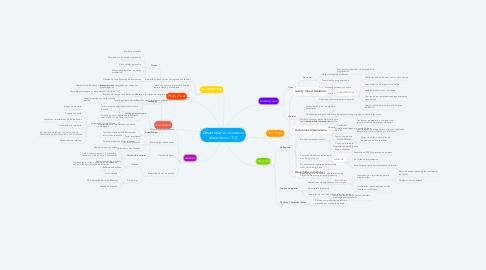 Mind Map: Desarrollar un comercio electrónico. (T.2)