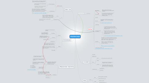 Mind Map: Begrebsoversigt