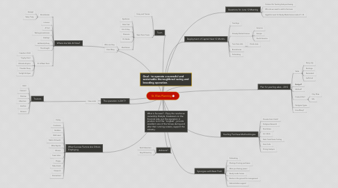 Mind Map: St. Elias Planning