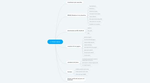 Mind Map: IL PRIMO MESE