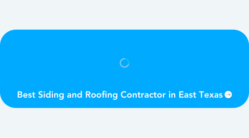 Mind Map: Best Siding and Roofing Contractor in East Texas
