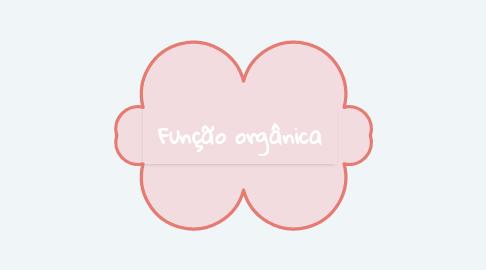 Mind Map: Função orgânica