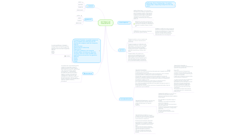 Mind Map: SISTEMAS DE TRANSPORTE